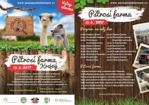 plakát pštrosí farma